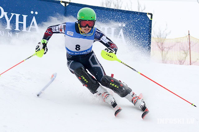 Baltic cup and FIS race in Alpine skiing this weekend in Sigulda