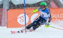 Kalnu slēpotājs Ž.Gedra uzlabo savus FIS punktus slalomā Somijā