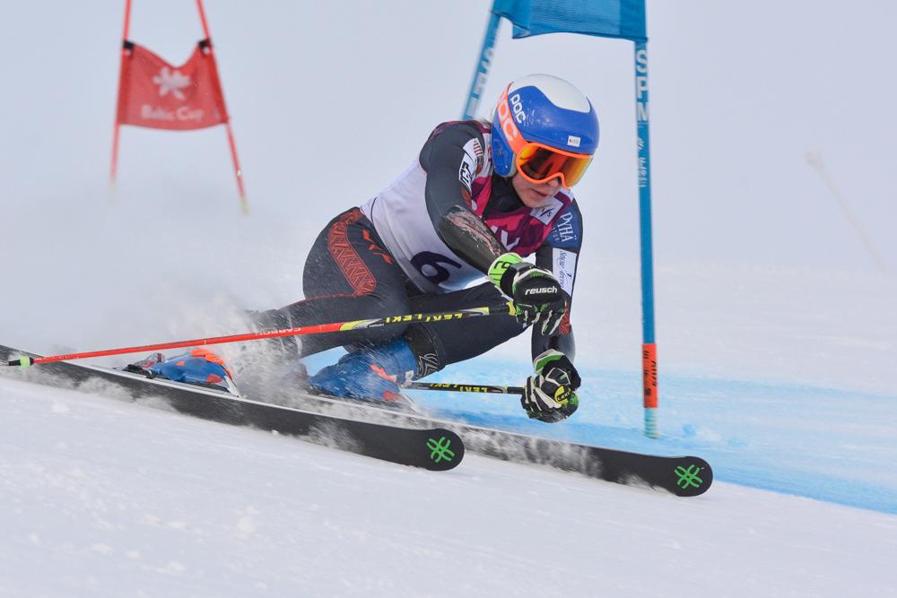 Latvijas Čempionātā milzu slalomā uzvar Žaks Gedra un Lelde Gasūna