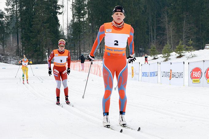 DAUSHKANE Inga, FIS Latvian Championship, 13.02.2016