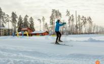Siguldas Sporta un aktīvās atpūtas centrā atvērta distanču slēpošanas trase
