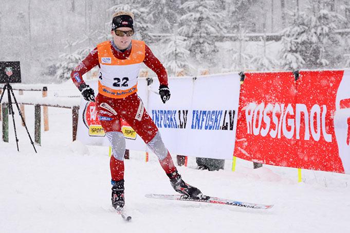 MUIZHNIECE Anda, FIS Latvian Championship, Madona, 14.02.2016