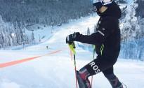 M.Zvejnieks FIS slalomā sasniedz savus labākos FIS punktus