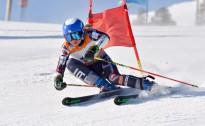 Kalnu slēpotājai Gasūnai otrā vieta pasaules čempionāta kvalifikācijā milzu slalomā