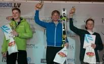 BK slalomā jauniešiem uzvaras četrām valstīm