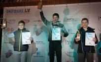 Slaloms izšķīra uzvarētājus lielākajā daļā jauniešu grupās BK kopvērtējumā