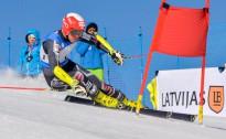 K.Zvejnieks un L.Gasūna uzvar FIS un LČ milzu slalomā Somijā