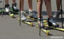 Lietuvai un Baltkrievijai uzvaras Madonā FIS sacensībās rollerslēpošanas sprintā