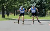 Noskaidroti Latvijas čempioni rollerslēpošanas sprintā