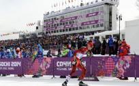 Šodien sprintā startē visi trīs distanču slēpotāji