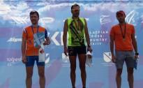 Olimpiskais čempions ātrākais Latvijas čempionātā un FIS rollerslēpošanā Priekuļos
