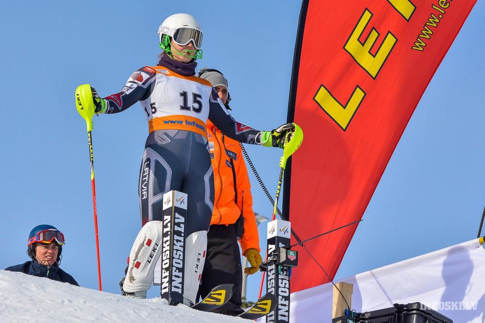 Agnese Āboltiņa Norvēģijā uzvar un gūst punktu rekordu