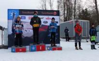 Jauniešu slēpotājiem trīs uzvaras Swedbank kausā Igaunijā