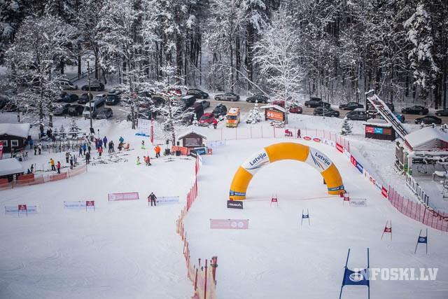 Nedēļas nogalē LK 2.posms kalnu slēpošanā FIS statusā