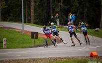 Serbijai un Latvijai uzvaras Latvijas čempionātā un FIS sprintā rollerslēpošanā