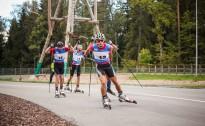 Latvijai un Lietuvai uzvaras Latvijas čempionātā un FIS sprintā rollerslēpošanā