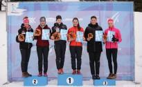 Latvijas čempionātā komandu sprintā slēpošana labākie talsinieki un rīdzinieces