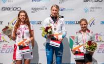 Latvijai trešā godalga Pasaules kausa posmā rollerslēpošanā