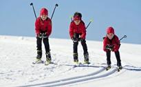 Biedrība A2 uzņem bērnus, jauniešus distanču slēpošanas sekcijā