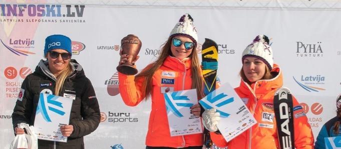 Agnese Āboltiņa, Baltic Cup 2016 3rd round, Pyha (FIN), Foto: Emīls Lukšo