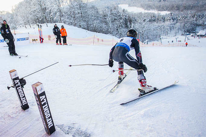This weekend Latvian cup and FIS competition in alpine skiing in Sigulda