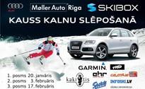 Tradicionāli Siguldā notiks AUDI - SKI BOX kausa izcīņa kalnu slēpošanā