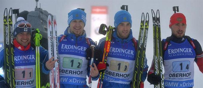 Sacensību uzvarētāji (biathlonworld.com)
