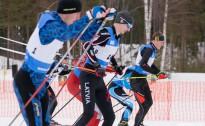 Noslēdzošais Latvijas čempionāta posms slēpošanā Madonā