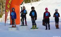 Aizvadīts SSS 1.posms kalnu slēpošanā