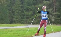 Aizraujoša cīņa vīriem Latvijas čempionātā rollerslēpošanā