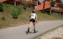 Latvijas čempionāts rollerslēpošanā klasiskajā stilā Madonā