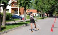 Rollerslēpošanas sprints Cēsu ielās
