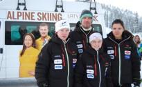 L.Gasūnai 3.vieta FIS sacensībās slalomā, M.Onskulis un M.Zvejnieks sešiniekā