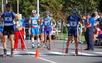 Brants ar Ozolu veiksmīgi nostartē pasaules kausā rollerslēpošanas sprintā