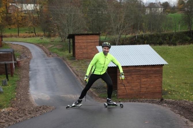Gulbenē atklās rollerslēpošanas trasi
