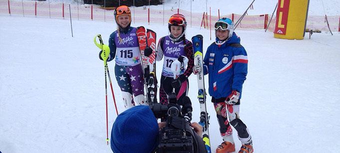 Latvijas jaunajiem kalnu slēpotājiem panākumi Čehijā un Slovākijā