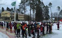 G.Lūsis un L.Klauža uzvar Siguldas tautas slēpojumā