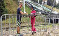 Mūsu tramplīnlēcēji aizvadījuši treniņnometni un nostartējuši sacensībās Čehijā
