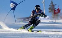 K.Zvejnieks labākais milzu slalomā Zviedrijā