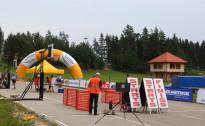 Madonā FIS sacensībās rollerslēpošanā dominē pasaules vadošie juniori