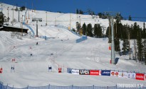 Latvija, Igaunija un Krievija atkal līdzīgi sadala uzvaras milzu slalomā