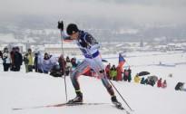 R.Slotiņš un A.Muižniece skiatlonā apriņķoti