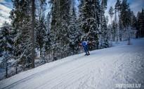 Ziemā distanču slēpotājiem izdevās uzrādīt labus rezultātus 4.daļa