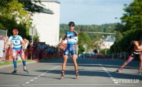 In the middle of August World cup in rollerskiing in Madona