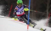 K.Zvejnieks un L.Gasūna vēlreiz lieliski nostartē slalomā Krievijā