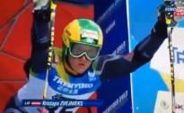 Zvejniekam 25.vieta pasaules studentu milzu slalomā
