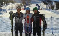 Latvijas kalnu slēpotājiem labi rezultāti slalomā Krievijā