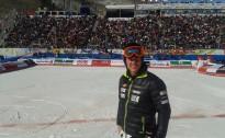 K.Zvejniekam ļoti labs starts milzu slalomā