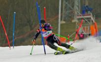 Kalnu slēpotājam Kristapam Zvejniekam 35.vieta PK posmā slalomā pirmajā braucienā