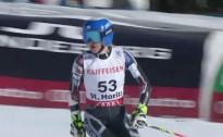 L.Gasūna pasaules čempionātā milzu slalomā četrdesmitniekā